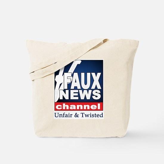 FAUX NEWS Tote Bag