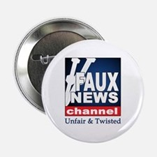 FAUX NEWS Button