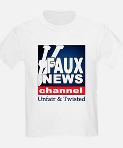FAUX NEWS Kids T-Shirt
