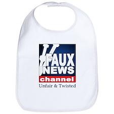FAUX NEWS Bib
