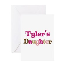Tyler's Daughter Greeting Card