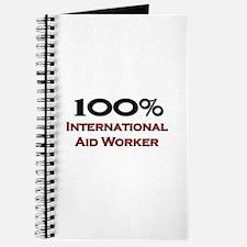 100 Percent International Aid Worker Journal