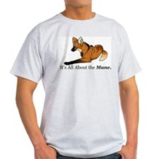 Maned Wolf - The Mane Ash Grey T-Shirt