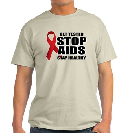 Stop Aids 2 Light T-Shirt