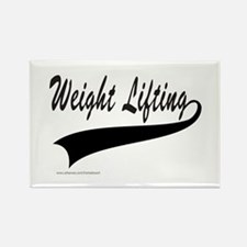 WEIGHT LIFTING Rectangle Magnet