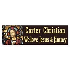 Carter Christian Bumper Bumper Sticker