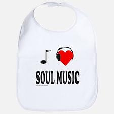 SOUL MUSIC Bib