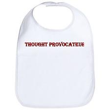 """Thought Provocateur"" Bib"