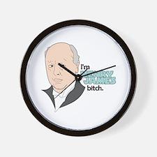 Funny James Wall Clock