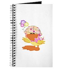 Cute Baby Girl Ducky Duck Journal