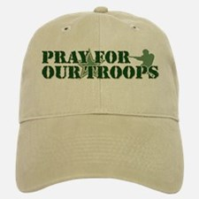 Pray for our troops Baseball Baseball Cap