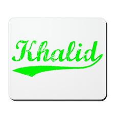 Vintage Khalid (Green) Mousepad