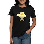 Cute Little Girl Chick Women's Dark T-Shirt