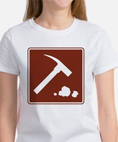 Rock Collecting Sign Women's T-Shirt