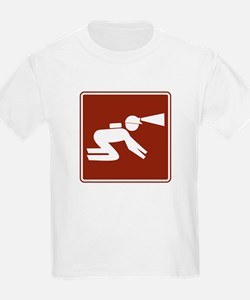Spelunking Sign T-Shirt