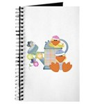 Cute Garden Time Baby Ducks Journal