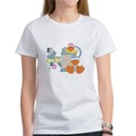 Cute Garden Time Baby Ducks Women's T-Shirt