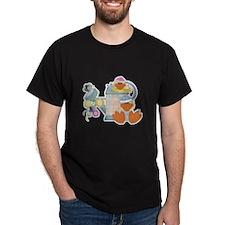 Cute Garden Time Baby Ducks T-Shirt