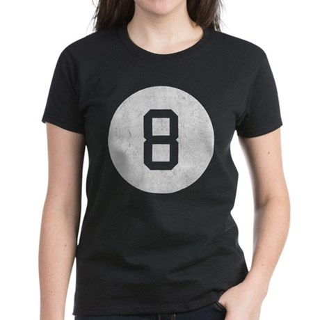 Vintage 8 Ball Women's Dark T-Shirt