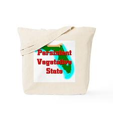 Florida Vegetative State Tote Bag