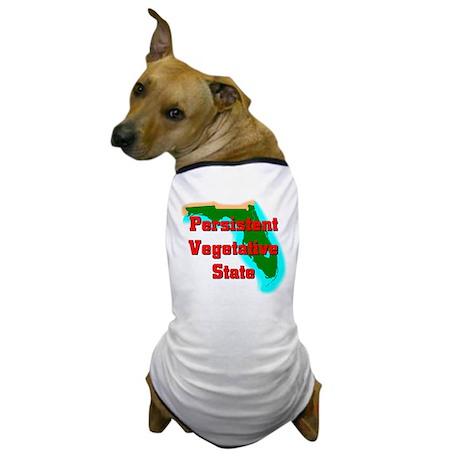 Florida Vegetative State Dog T-Shirt