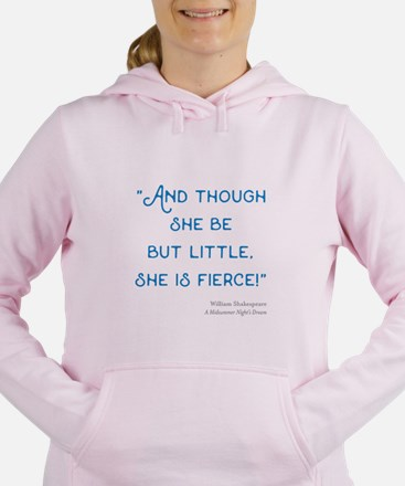 Little but Fierce! - Women's Hooded Sweatshirt