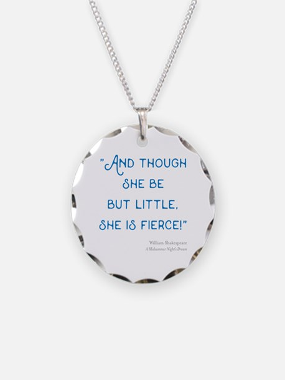Little but Fierce! - Necklace
