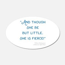 Little but Fierce! - Wall Decal