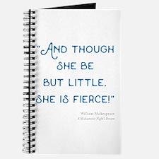 Little but Fierce! - Journal