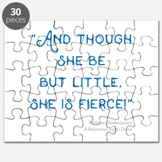 Little but Fierce! - Puzzle