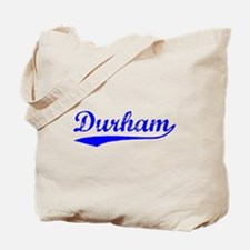 Vintage Durham (Blue) Tote Bag