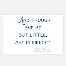Little but Fierce! - Postcards (Package of 8)