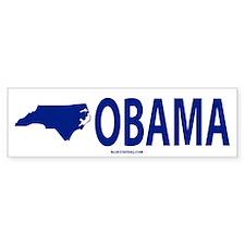 NC for Obama Bumper Car Sticker