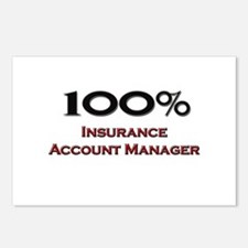 100 Percent Insurance Account Manager Postcards (P