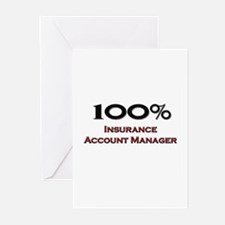 100 Percent Insurance Account Manager Greeting Car