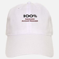 100 Percent Insurance Account Manager Baseball Baseball Cap