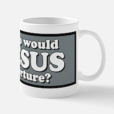 Who Would Jesus Torture Mug