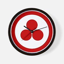 Pax Cultura Wall Clock