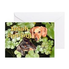 Irish Spring Greeting Card