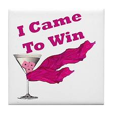 I Came To Win (1) Tile Coaster