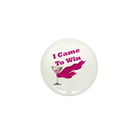 I Came To Win (1) Mini Button (100 pack)