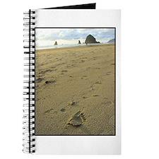 Footprints on the Beach Journal