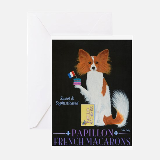 Papillon French Macarons Greeting Card