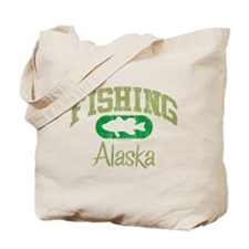 FISHING ALASKA Tote Bag