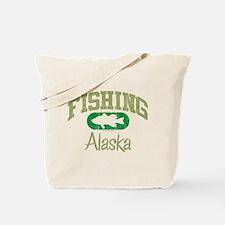 FISHING ALASKA Tote Bag