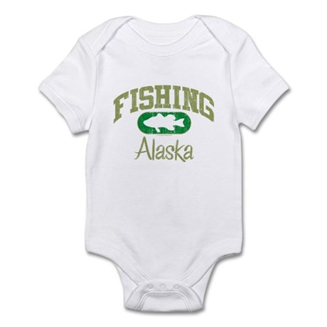 FISHING ALASKA Infant Bodysuit
