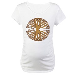 I'M ORGANIC Maternity T-Shirt