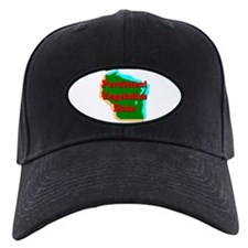 Wisconsin Vegetative State Baseball Hat