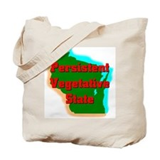 Wisconsin Vegetative State Tote Bag