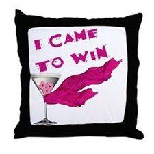 I Came To Win (3) Throw Pillow
